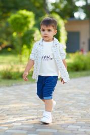 Рубашка детские Miracle ME модель Арт-190125-1 характеристики, 2017