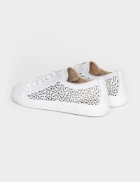Кеди  жіночі Кеды 0118-LR2-2 белая кожа 0118-LR2-2 ціна взуття, 2017