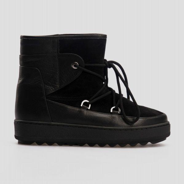 Ботинки для женщин Угги 01949 нубук/кожа 01949 в Украине, 2017