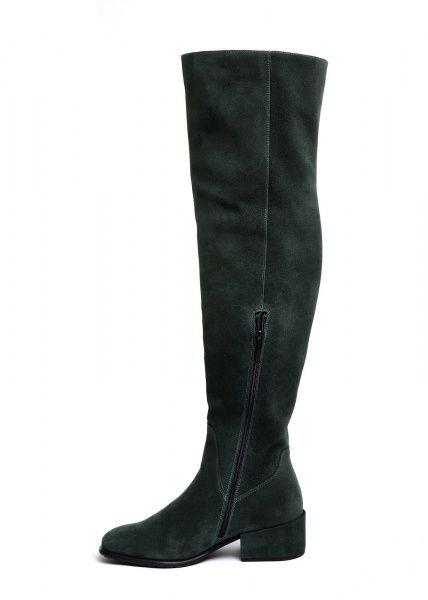 женские 024301 Замшевые серые ботфорты Modus Vivendi 024301 брендовая обувь, 2017