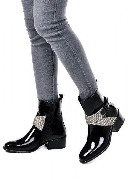 женские 024511 Лаковые черные ботинки Modus Vivendi 024511 купить в Интертоп, 2017