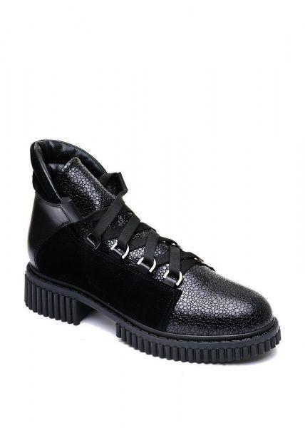 женские 033002 Черные кожаные ботинки на шнурках Modus Vivendi 033002 смотреть, 2017