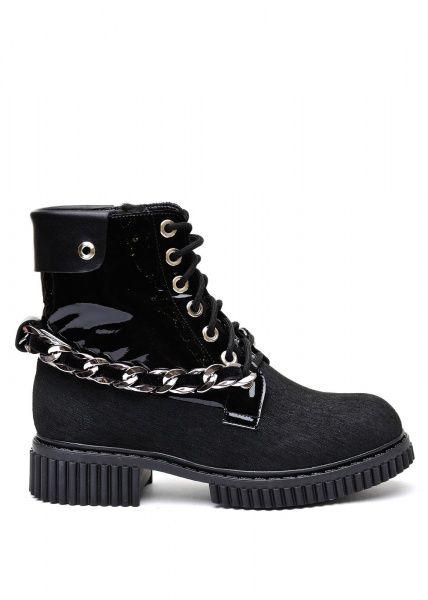 женские 034302 Черные высокие ботинки Modus Vivendi 034302 размерная сетка обуви, 2017