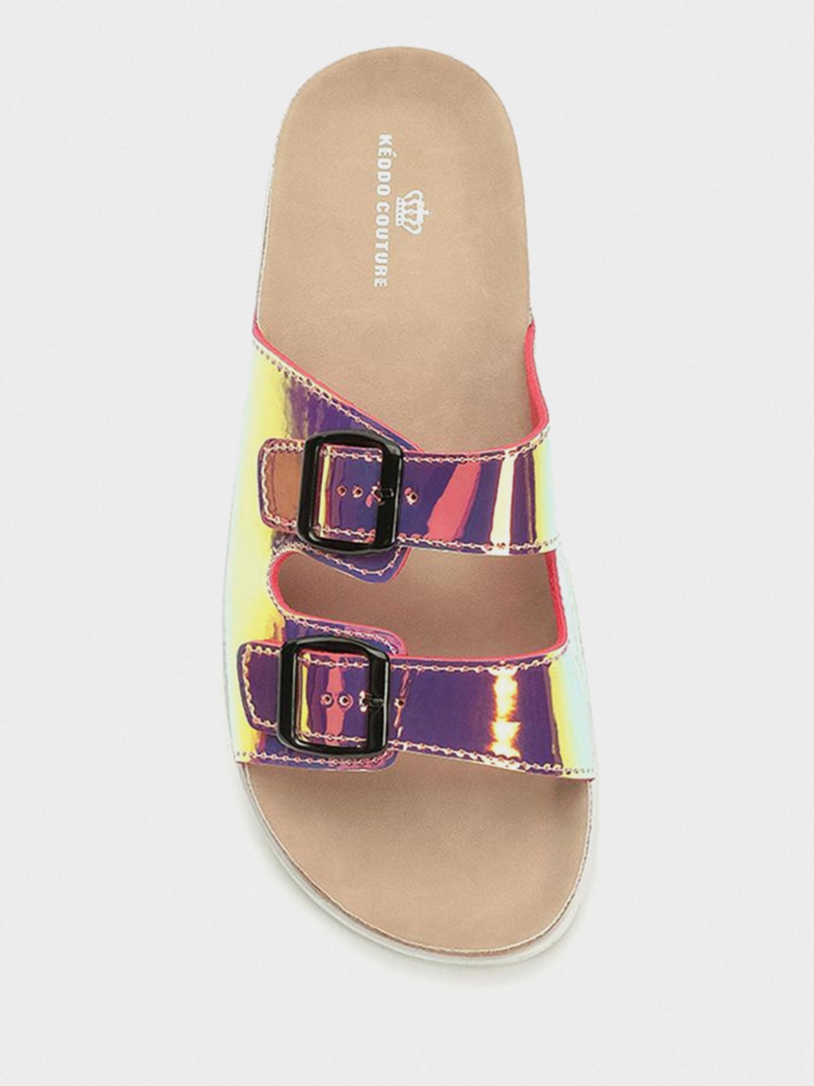 Шльопанці  для жінок Keddo 897875/01-01 брендове взуття, 2017