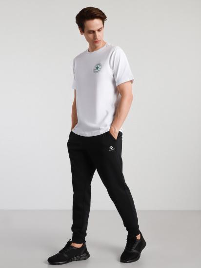 Спортивні штани CONVERSE Embroidered Star Chevron модель 10020369-001 — фото - INTERTOP
