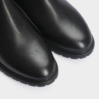 Ботинки женские Ботинки 10000220 черная кожа. Байка 10000220 выбрать, 2017