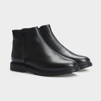Ботинки женские Ботинки 10000220 черная кожа. Байка 10000220 брендовая обувь, 2017