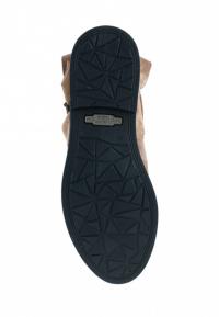 Полуботинки женские Ботинки Мерлин замша цвета капучино 100050 бесплатная доставка, 2017