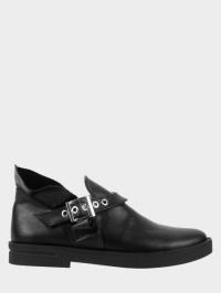 Полуботинки женские Ботинки Мерлин кожаные черного цвета 100051 примерка, 2017