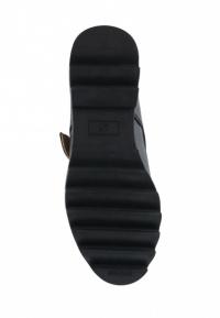 Туфли для женщин Туфли Алина кожаные черного цвета 100053 брендовая обувь, 2017