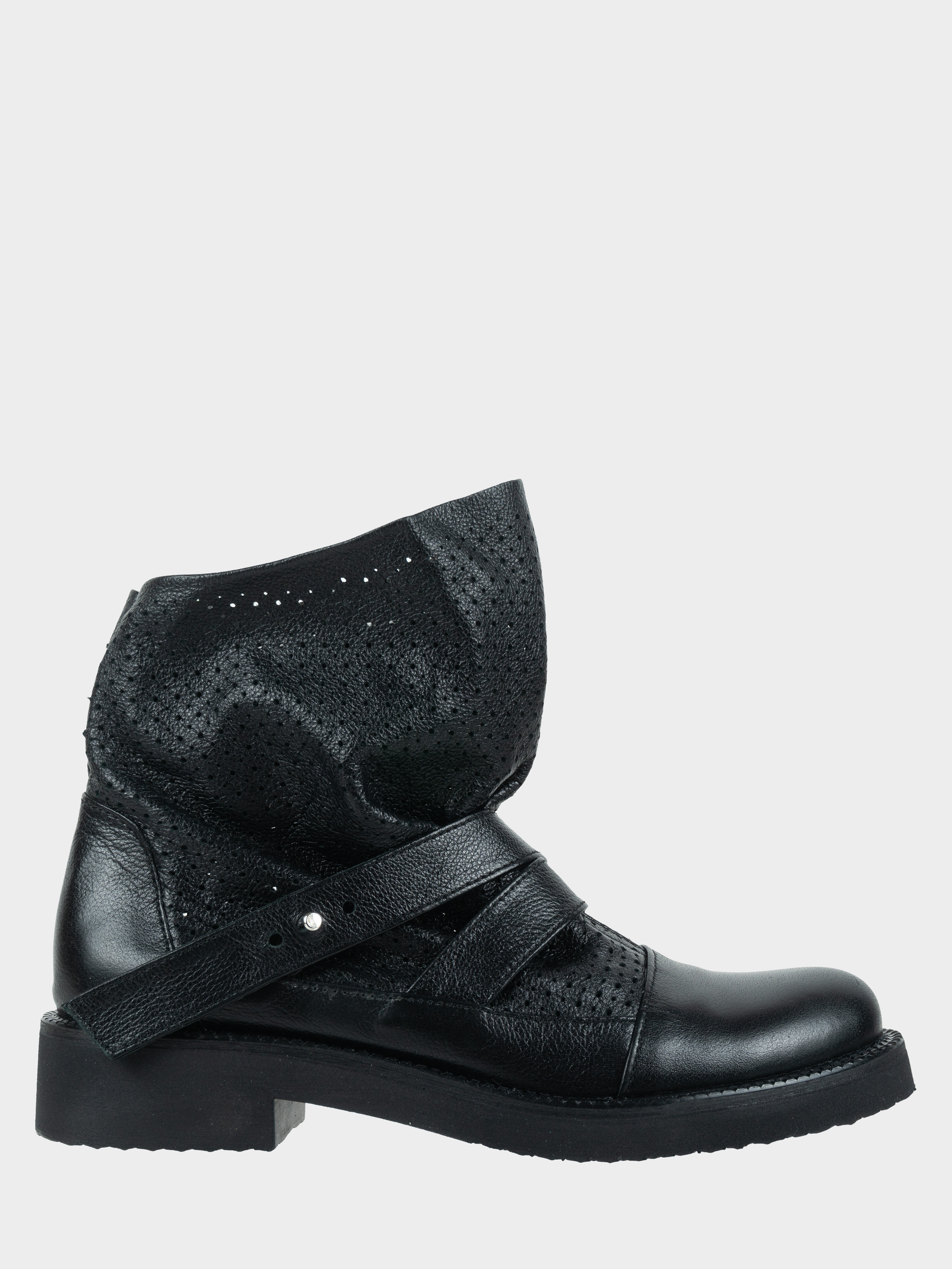 Ботинки женские Ботинки Вера кожаные черного цвета 100057 смотреть, 2017