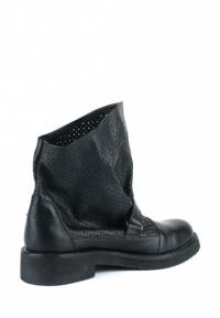 Ботинки женские Ботинки Вера кожаные черного цвета 100057 цена, 2017
