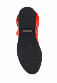 Полуботинки женские Ботинки Мерлин кожаные красного цвета 100102 , 2017