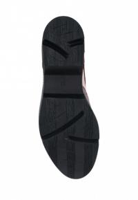 Туфли женские Туфли Фрида кожаные бордовые с розовыми вставками 100103 фото, купить, 2017
