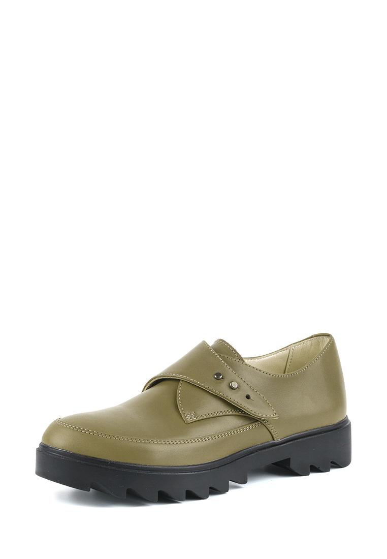 Туфли для женщин Туфли Алина кожаные оливкового цвета 100106 купить в Интертоп, 2017