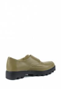 Туфли для женщин Туфли Алина кожаные оливкового цвета 100106 примерка, 2017