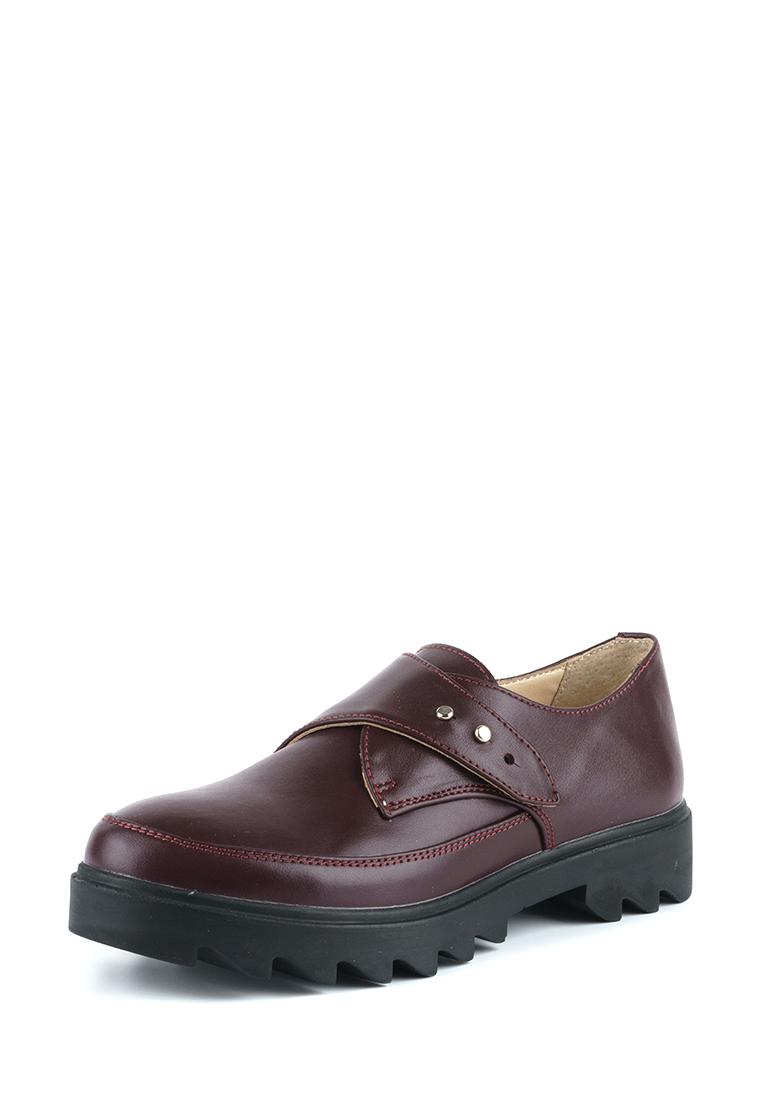 Туфли женские Туфли Алина кожаные бордового цвета 100107 продажа, 2017