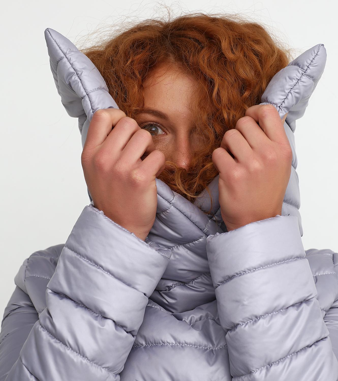 Пальто синтепоновое женские Jhiva модель 10012722 купить, 2017