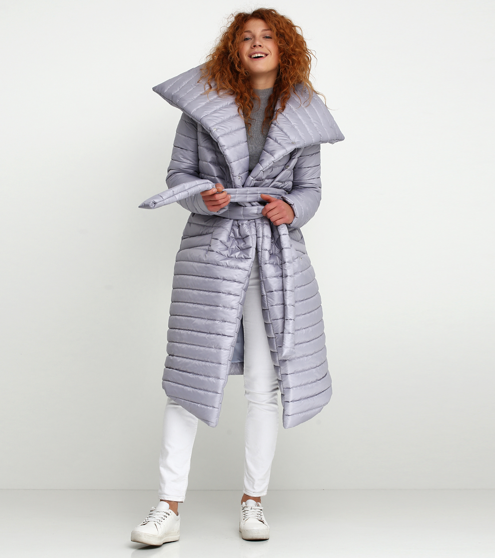 Пальто синтепоновое женские Jhiva модель 10012722 характеристики, 2017