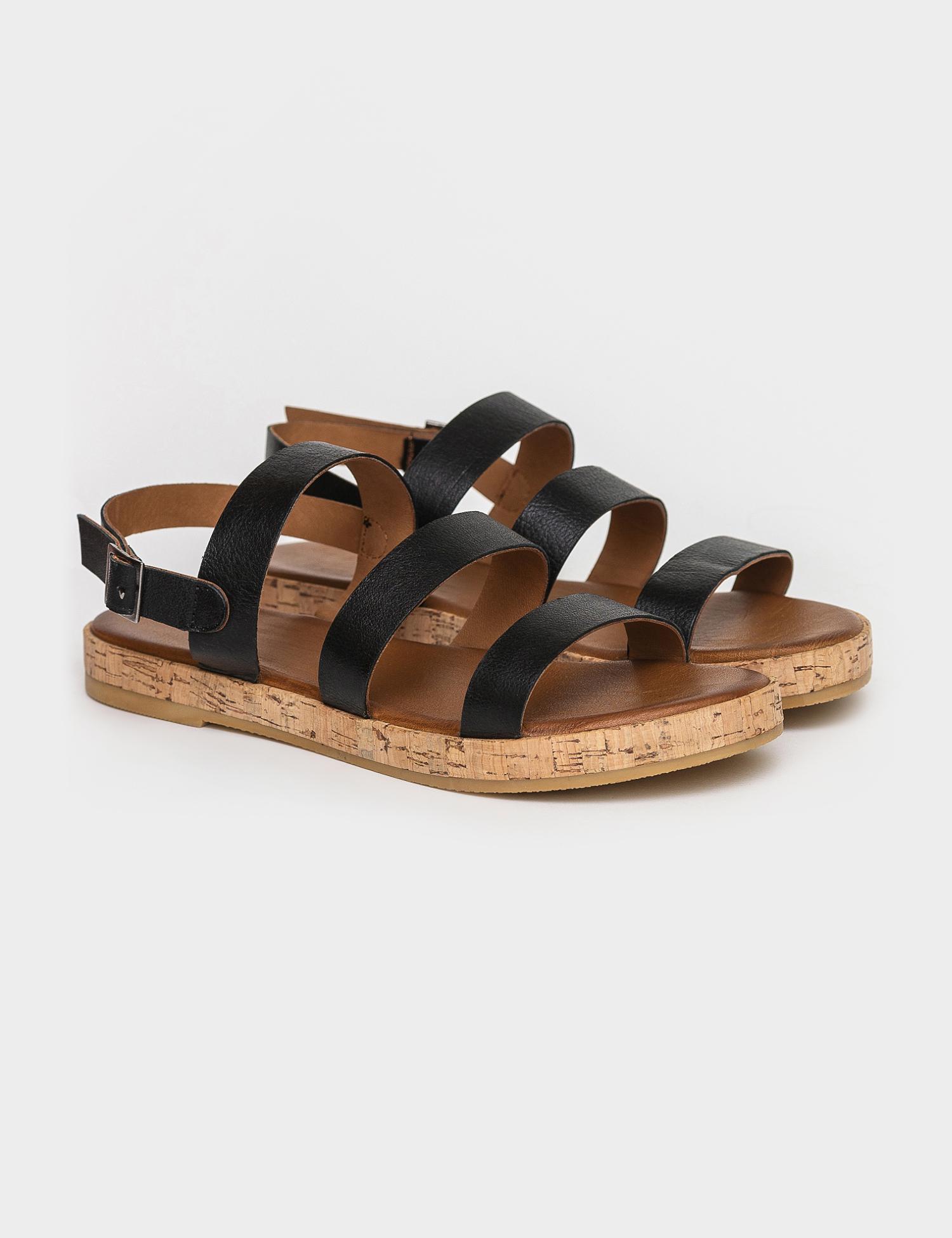 Сандалі  жіночі Сандали 1005chr черная кожа 1005chr ціна взуття, 2017