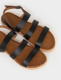 Сандалі  жіночі Сандали 1005chr черная кожа 1005chr брендове взуття, 2017