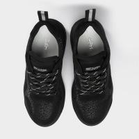 Кроссовки женские Кроссовки 1018-12-420 черная кожа/замша. Байка 1018-12-420 цена обуви, 2017