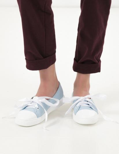 Туфлі  жіночі Кеды 10301454 голубая кожа 10301454 купити в Iнтертоп, 2017