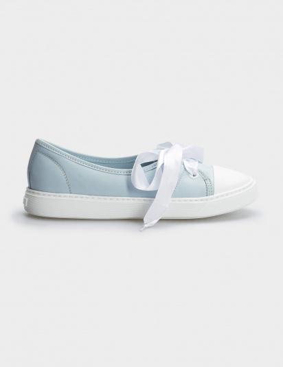 Туфлі  жіночі Кеды 10301454 голубая кожа 10301454 продаж, 2017
