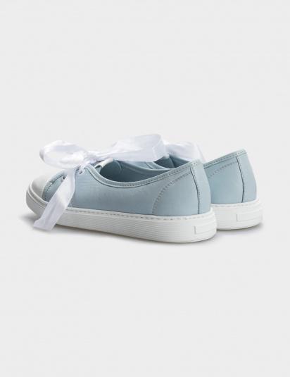 Туфлі  жіночі Кеды 10301454 голубая кожа 10301454 купити, 2017