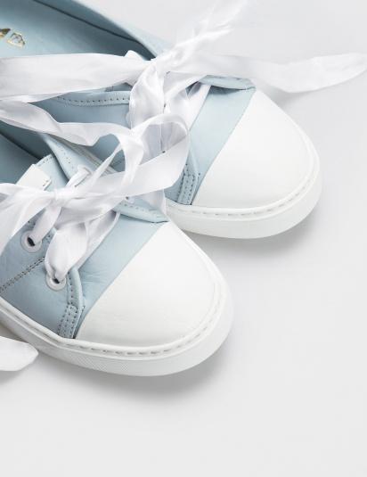 Туфлі  жіночі Кеды 10301454 голубая кожа 10301454 ціна взуття, 2017