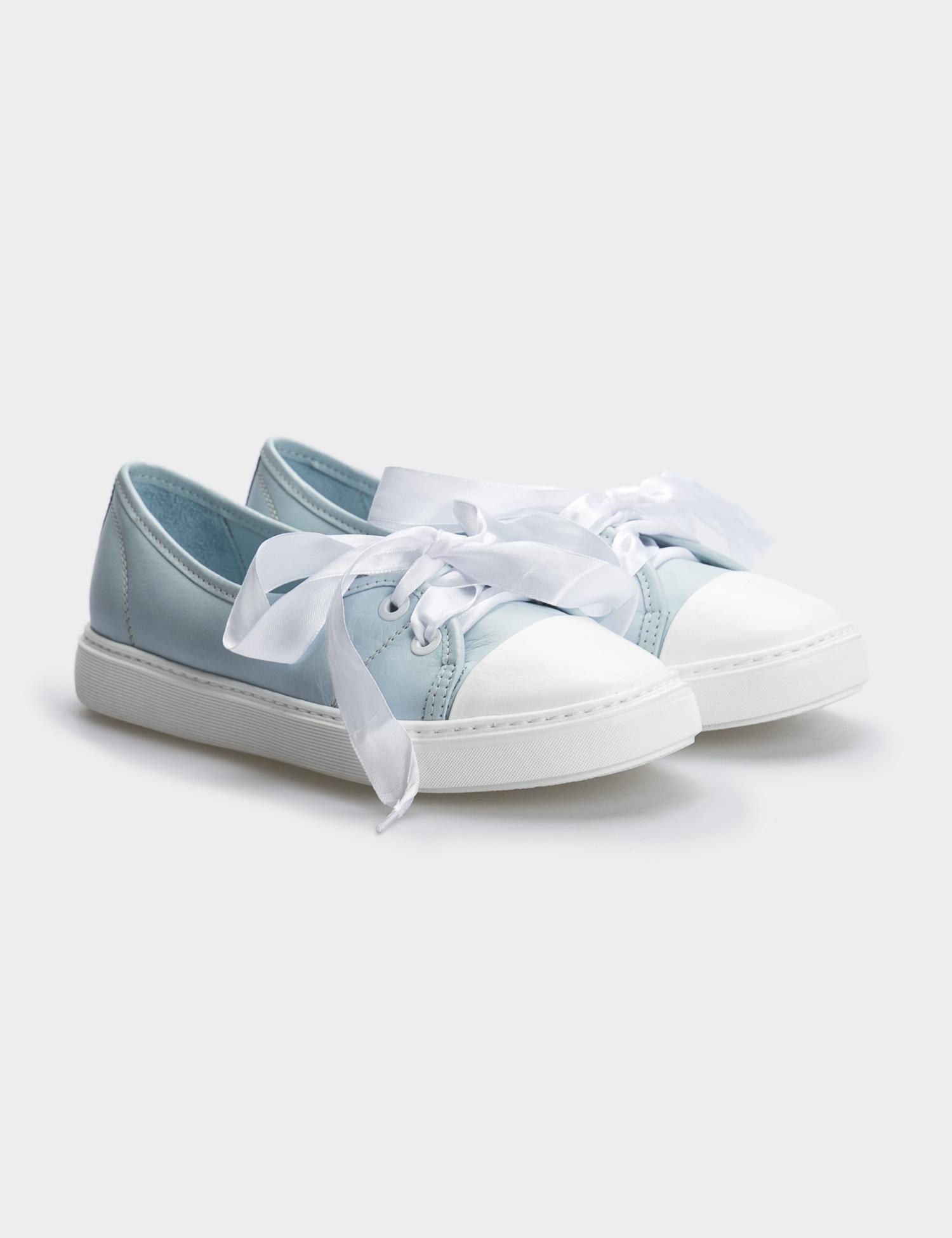 Туфлі  жіночі Кеды 10301454 голубая кожа 10301454 фото, купити, 2017