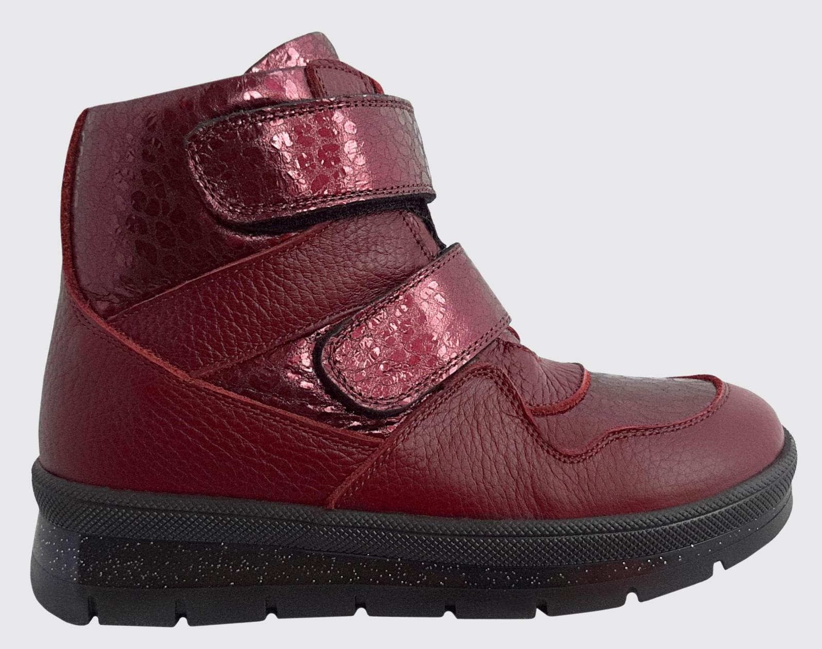 Ботинки детские Perlina 107BORDO брендовые, 2017