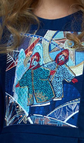 Сукня Едельвіка модель 1091-18-00 — фото 2 - INTERTOP