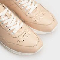 Кроссовки для женщин Кроссовки 110 бежевая кожа 110 брендовая обувь, 2017