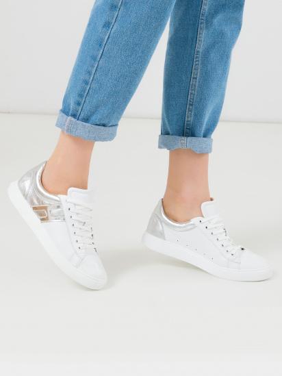 Кросівки  жіночі Кроссовки 1113-2 белая/серебристая кожа 1113-2 взуття бренду, 2017