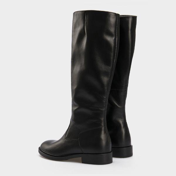 Сапоги для женщин Сапоги 1147-020 черная кожа. Байка 1147-020 выбрать, 2017