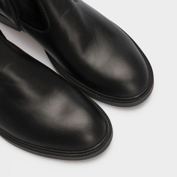 Сапоги для женщин Сапоги 1147-020 черная кожа. Байка 1147-020 цена, 2017