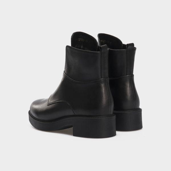 Ботинки женские Ботинки 12300131 черная кожа. Шерсть 12300131 выбрать, 2017