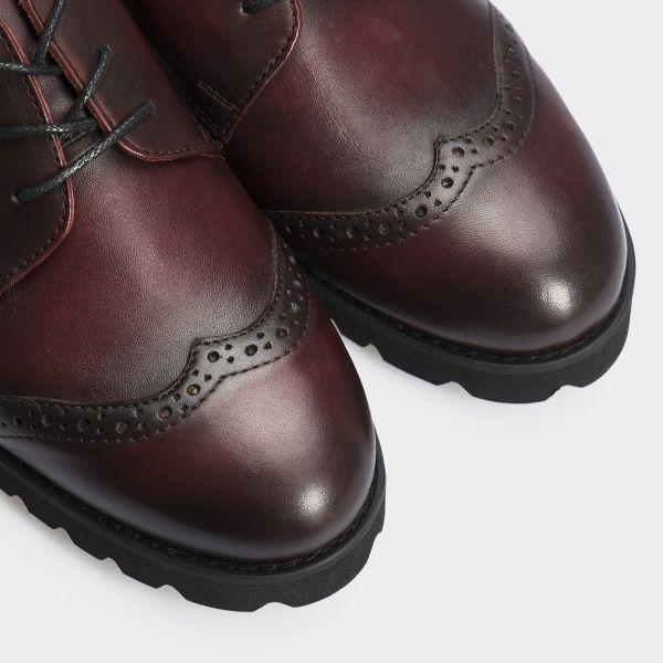 Туфли для женщин Туфли 12703-48 бордовая кожа 12703-48 продажа, 2017
