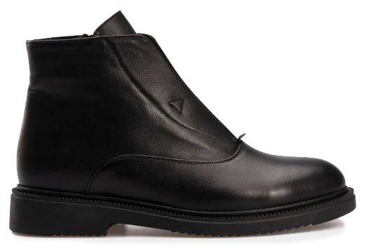 Ботинки женские Ботинки 13100120-8 черная кожа. Байка 13100120-8 выбрать, 2017