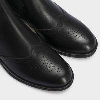 Ботинки женские Ботинки 13400220 черная кожа. Байка 13400220 выбрать, 2017