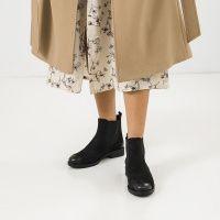 Ботинки для женщин Ботинки 13418120 черный нубук. Байка 13418120 купить в Украине, 2017