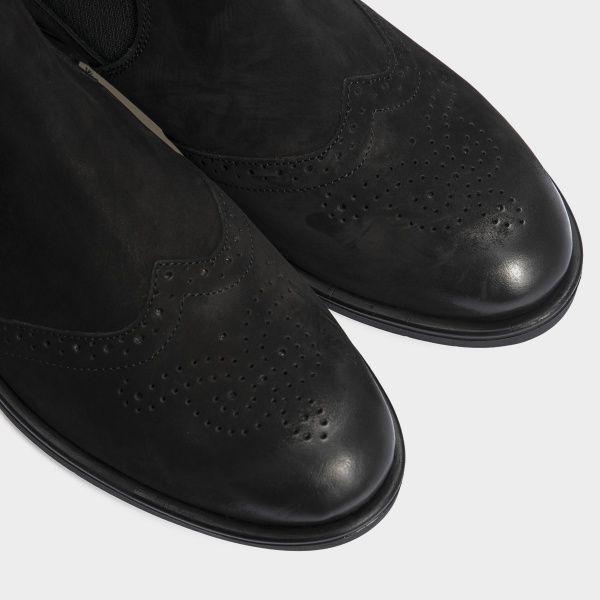 Ботинки для женщин Ботинки 13418120 черный нубук. Байка 13418120 , 2017