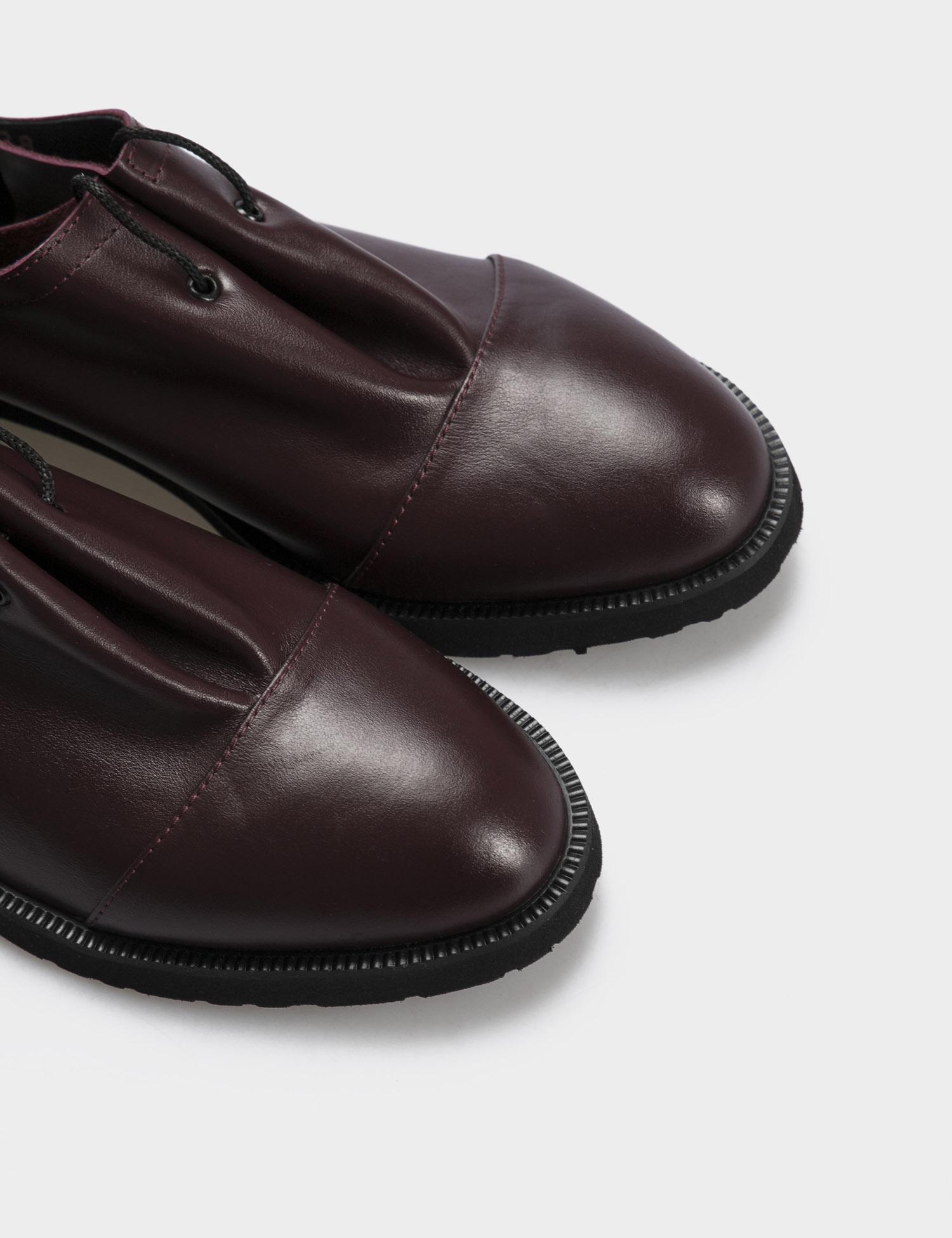 Туфлі  жіночі Туфли 1401bordo бордовая кожа 1401bordo фото, купити, 2017