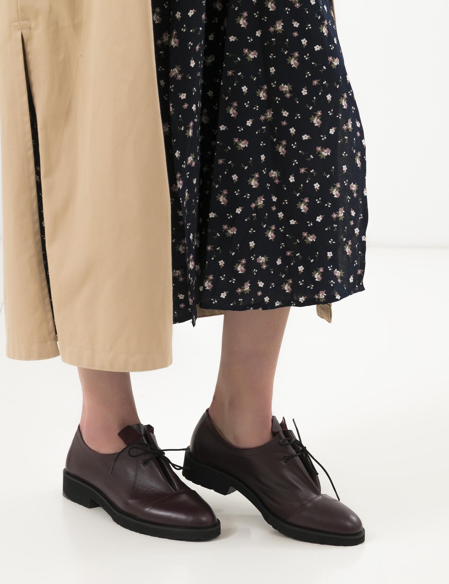 Туфлі  жіночі Туфли 1401bordo бордовая кожа 1401bordo дивитися, 2017