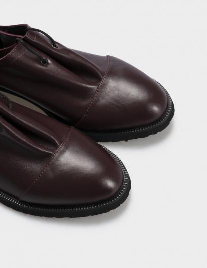 Туфлі Gem модель 1401bordo — фото 4 - INTERTOP