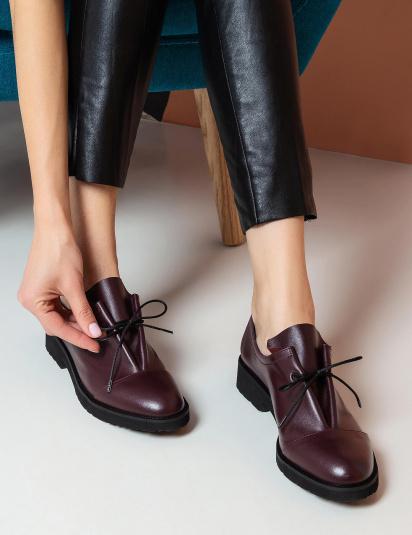 Туфлі Gem модель 1401bordo — фото 6 - INTERTOP