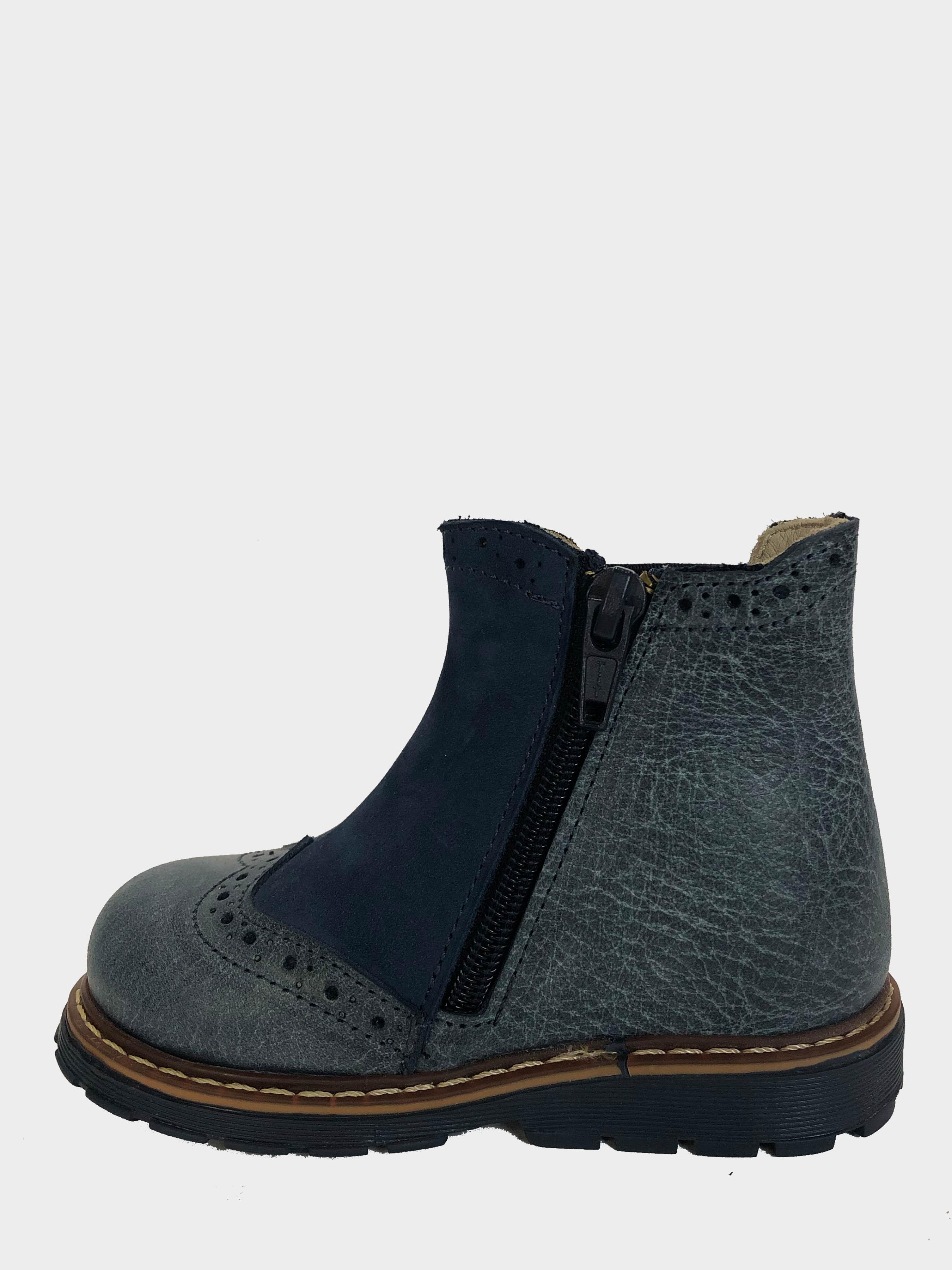 Ботинки детские Martens Baby Navy 141-3K брендовая обувь, 2017