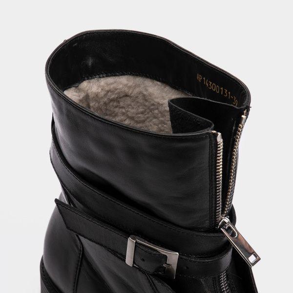 Ботинки для женщин Ботинки 143797631 черная кожа\замша. Шерсть 143797631 модные, 2017