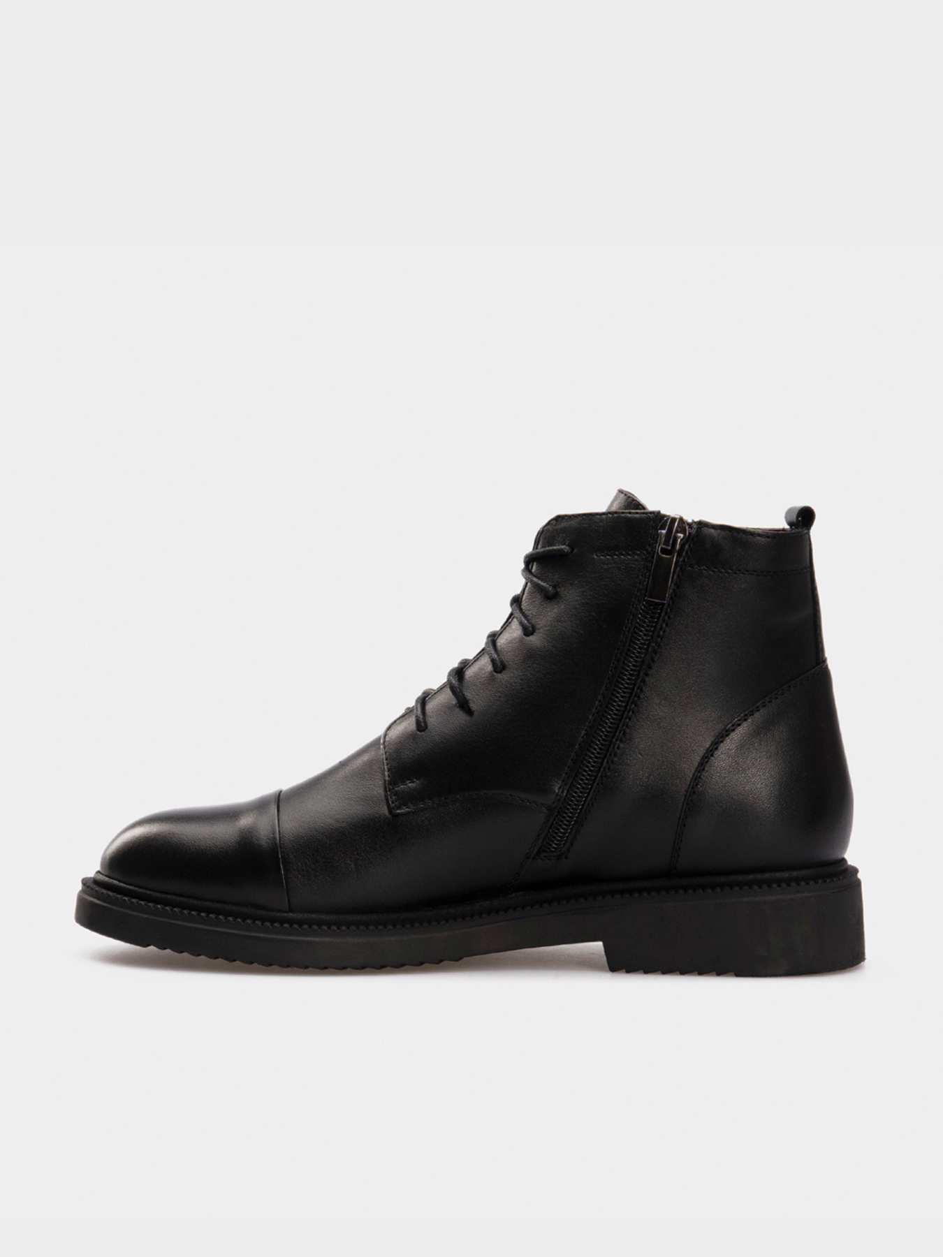 Черевики  жіночі Ботинки черная кожа. Байка 14500120 дивитися, 2017